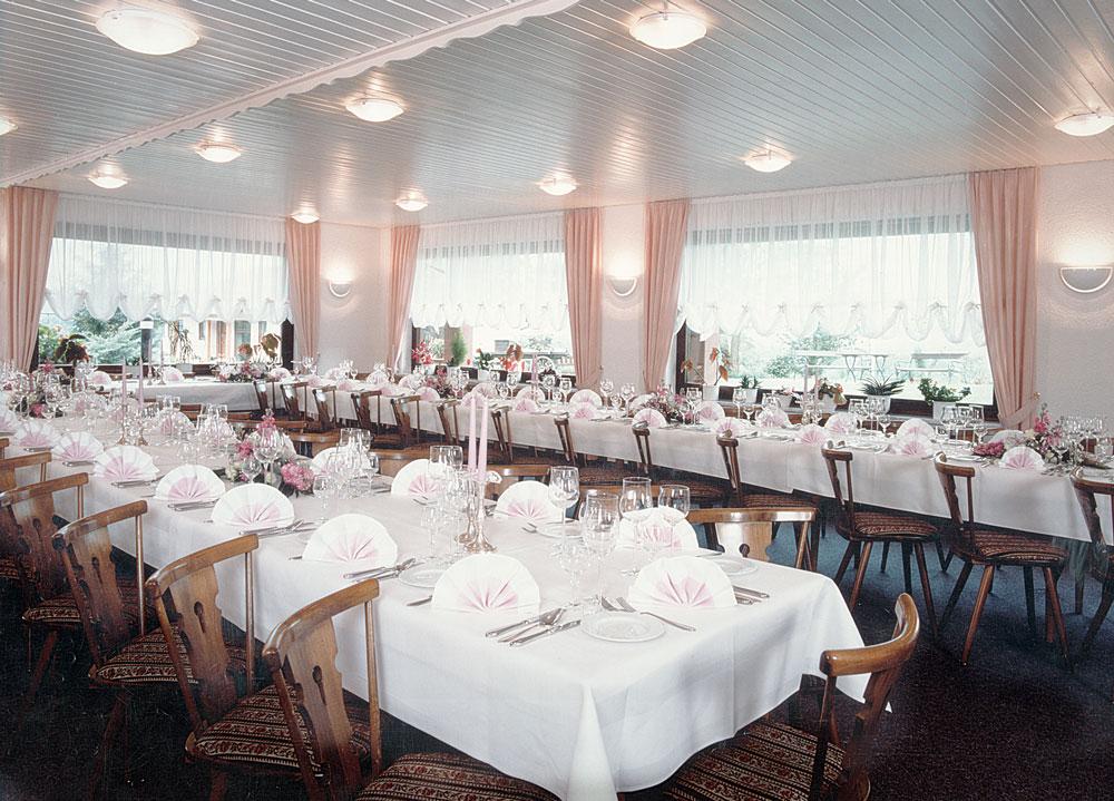 Saal01 - Elke, das Restaurant im Grünen, Rheinfelden, Terrasse ...